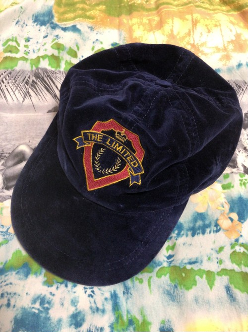 early2000's The Limited velour cap