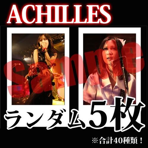 【チェキ・ランダム5枚】ACHILLES