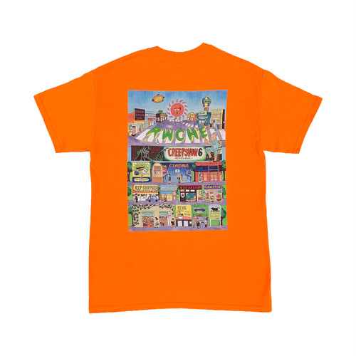 TOWN S/S Tee -Safety Orange-