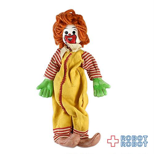 マクドナルド ロナルド くねくね人形 頭部等陶器 毛糸髪 23cm