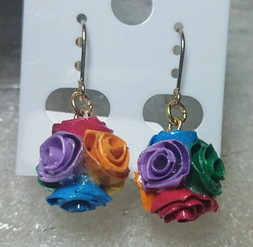 【Butterfly Rose】バラのピアス②