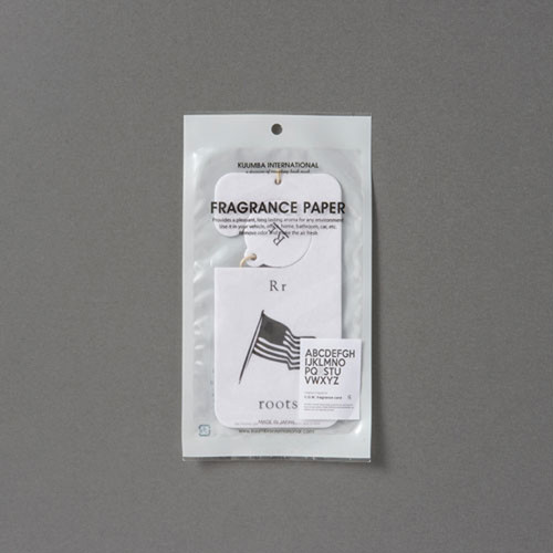 "C.D.W. Fragrance Card ""R"""