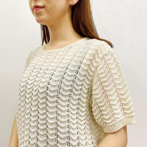 (LOOK) design knit tee
