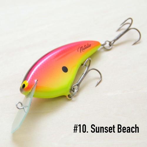 "BRISKY LURES  /  "" Natalie "" / #10. Sunset Beach"
