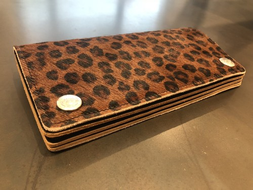 LEOPARD BIKER WALLET