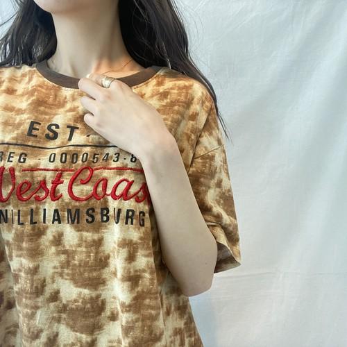 remakeプリントTシャツ(elie)