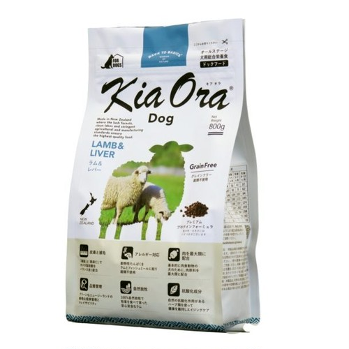 9.5kg KiaOra®DOG ラム&レバー