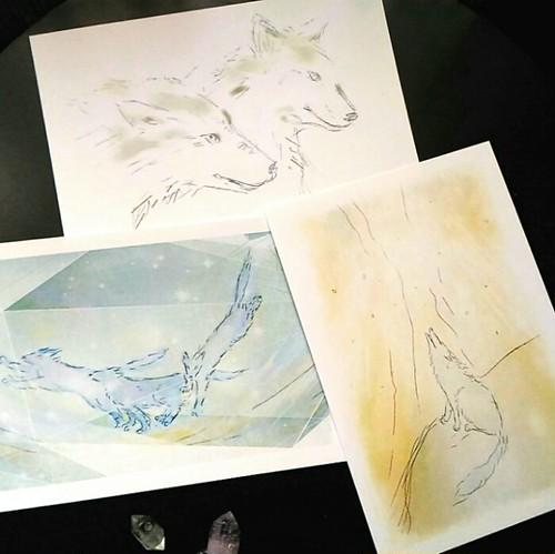 ホーリーイメージ◆犬型三種◆複製画