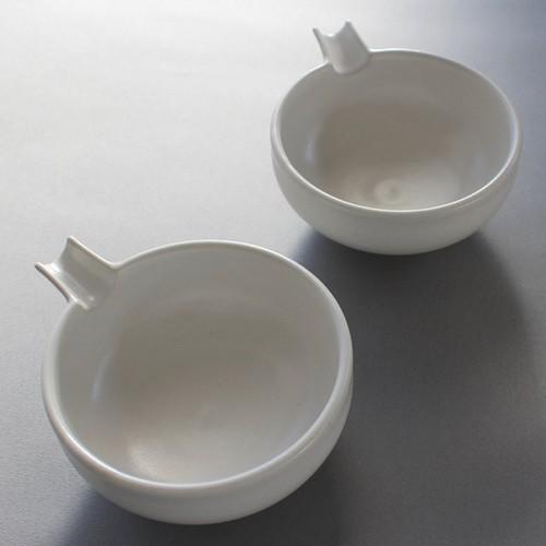 白釉片口鉢