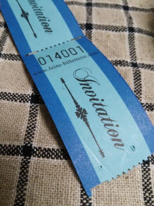 ステーショナリー* 海外のチケット(INVITATION/招待)