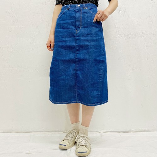 "(LOOK) ""Levi's"" denim skirt"
