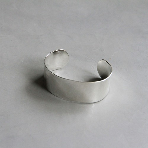 SilverSimpleBangle