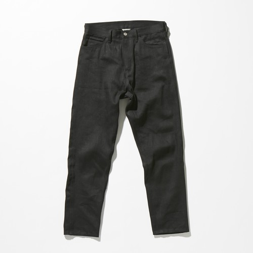 【FILL THE BILL】《UNISEX》804 LOOSE FIT TAPERED DENIM - BLACK RIGID