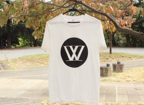 W-Logo T-shirts 【White】