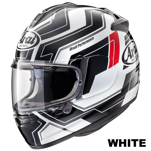 ARAI VECTOR-X PLACE WHITE