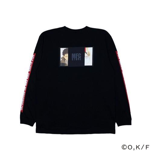 MFC STORE × 炎炎ノ消防隊 L/S TEE TYPE1 / BLACK