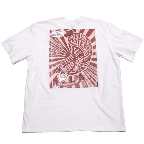 RATS(ラッツ) / SAUSAGE RUN 7th T-SHIRT(19'SPT-0702)(Tシャツ)