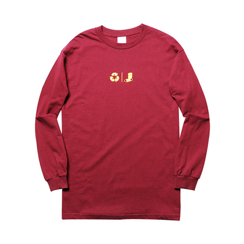 WHIMSY - FRESH DELIVERY L/S TEE (Burgundy)