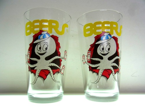 [ HUF ] PARTYPUS BEERSPINT GLASS SET