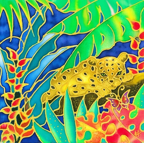 原画 Colorful tropics 4
