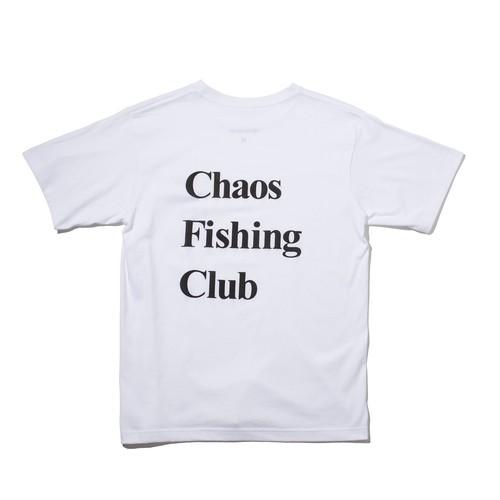 CHAOS FISHING CLUB OG TEE WHITE