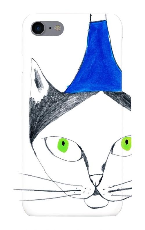 スマホケース「フージーと猫」