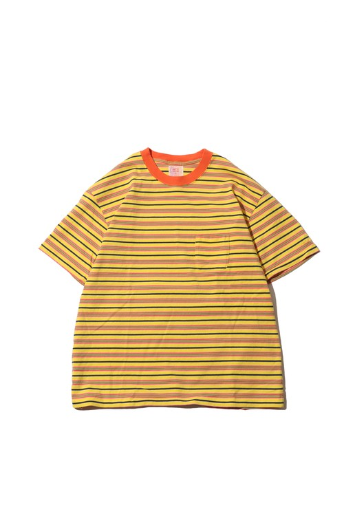 Original Multiborder Tshirt / yellow
