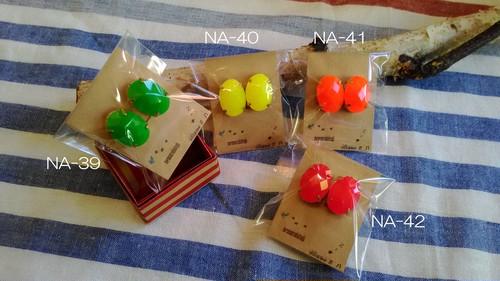 休眠堂 NA-39~42ネオンカラーイヤリング