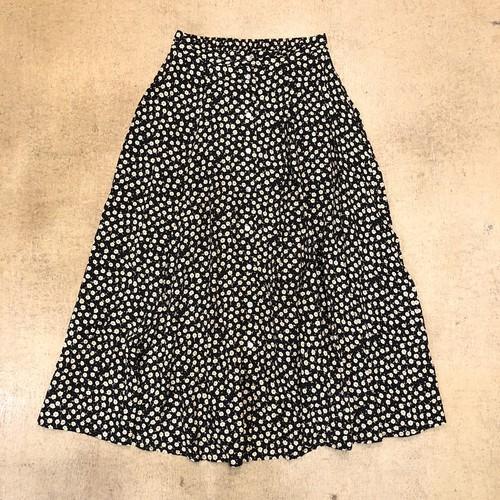 Floral Print Long Skirt ¥5,400+tax