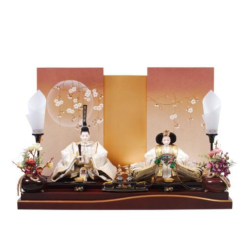 ひな人形<親王飾り・平安天鳳作>月桜