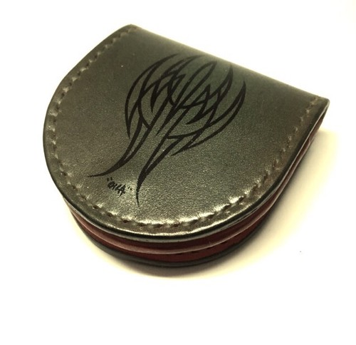 """Horseshoe Coincase Pinstripe(g)""【Eighteen Leather(エイティーン・レザー)】"