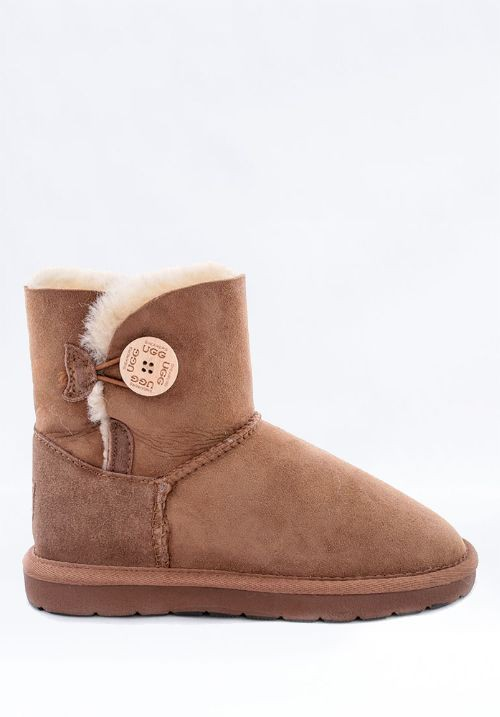 UGG Mini Single Button Chestnuts 送料込み