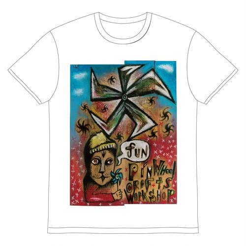 [イマイアキノブ×pinwheelcraftsworkshop]Tシャツ