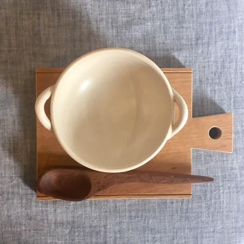 土本製陶所 耐熱両耳ココット