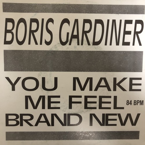 Boris Gardiner ‎- You Make Me Feel Brand New【7-20485】