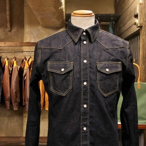 Bespoke Western Denim Shirts