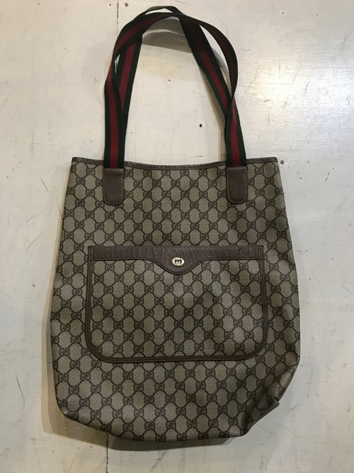 OLD GUCCI トートバッグ