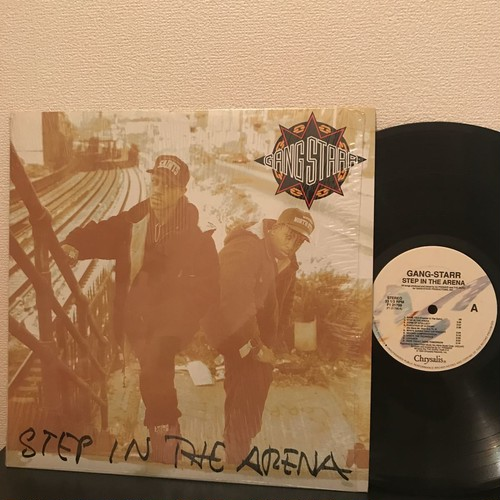 Gang Starr - Step In The Arena (LP, Album, US, 1990)