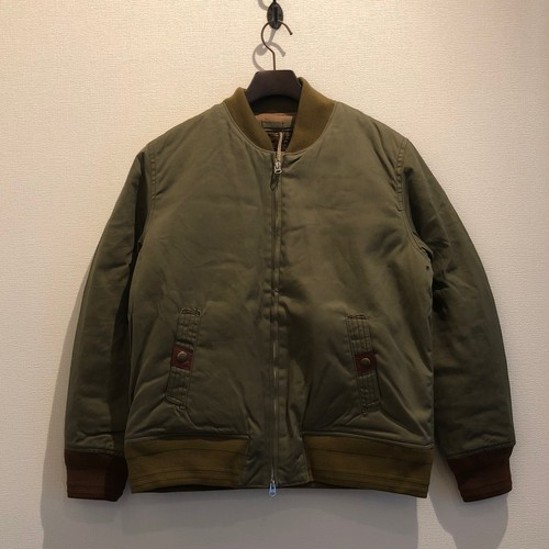 SOLID FLIGHT JACKET (SAGE GREEN) / LOST CONTROL