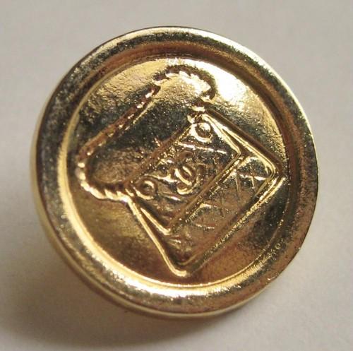 CHANEL VINTAGE (シャネル ヴィンテージ) マトラッセ バッグ デザイン ボタン ゴールド 454