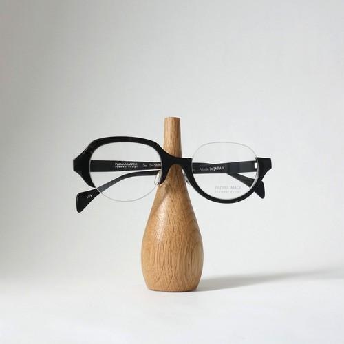 家具職人が作ったオークの眼鏡スタンド [ Short ]