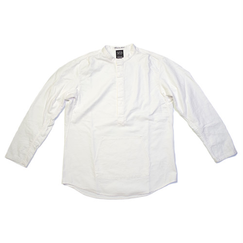 100A PULLOVER BAND COLLAR SHIRT