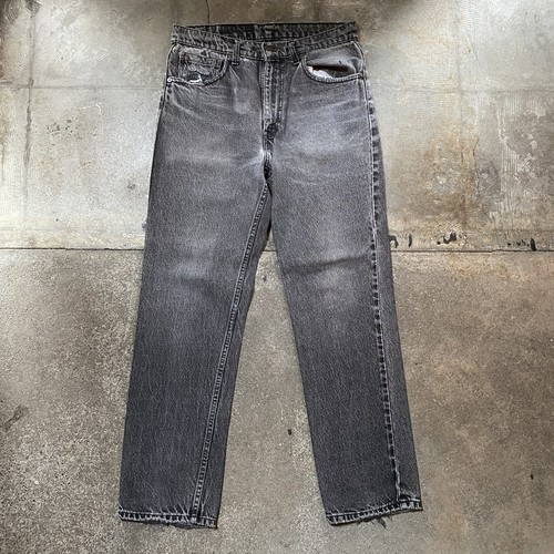90s Levi's 516 Black Denim Pants