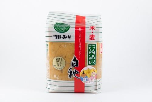 鶴味噌 白秋合わせ味噌(1㎏)