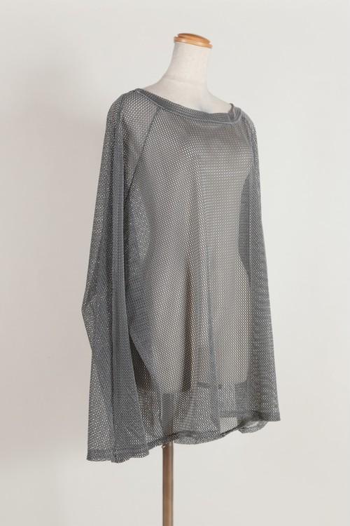 raglan sleeve mesh TEE