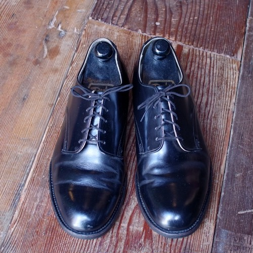 1990s US Navy Dress Oxford Shoes / 90年代 USN サービス シューズ / WOLVERINE