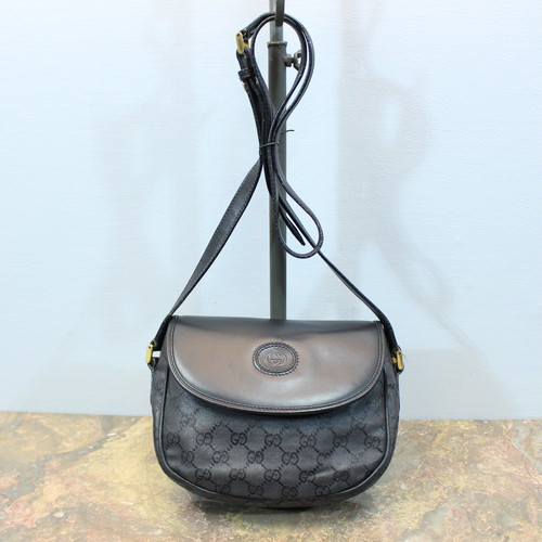 .OLD GUCCI GG PATTERNED SHOULDER BAG MADE IN ITALY/オールドグッチGG柄ショルダーバッグ 2000000028958