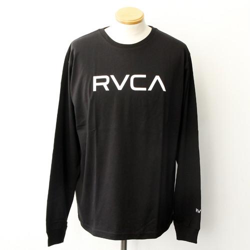 【RVCA】BIG RVCA LS TEE (BLACK)