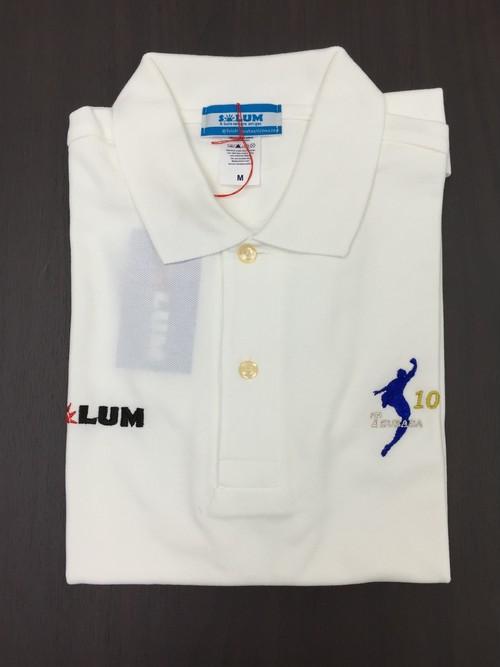 SOLUM ポロシャツ(WHT 10TSUBASA)