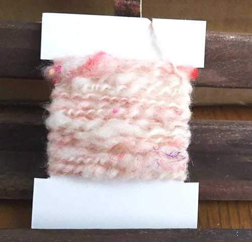 手紡ぎ糸 カードヤーン 1